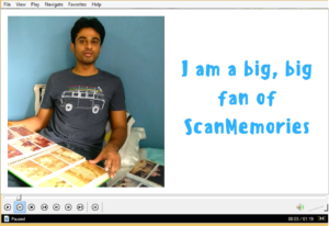 I am big fan of ScanMemories