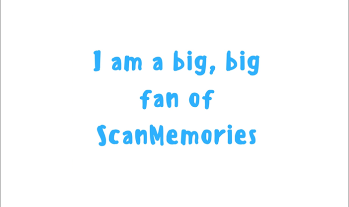 I am big fan of ScanMemories
