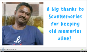 Big thanks to ScanMemories
